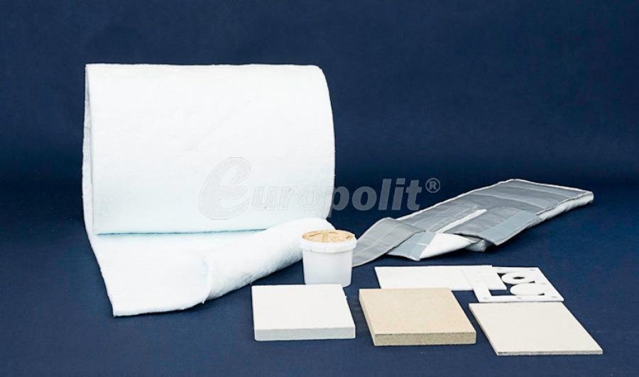 Platten und Hochtemperatur-Matten