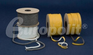 europolit Ropes and tapes for fireplace inserts