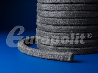 europolit Cotton packing impregnated with graphite type EBG