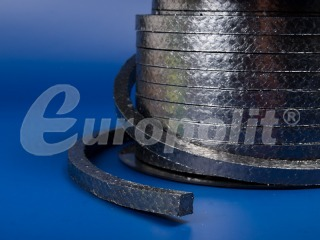europolit Reinforced graphite packing type EGZ and EGZ/I