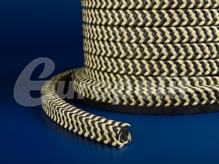 europolit PTFE packing with graphite filling intertwined with aramid type EPA/Z