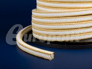 europolit PTFE packing reinforced with aramid type EPB/O+AR