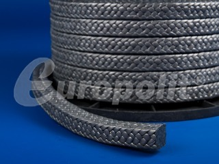 europolit PTFE packing with graphite filling type EPG