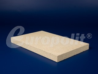europolit Vermiculite boards type SF-400, SF-600, SF-750